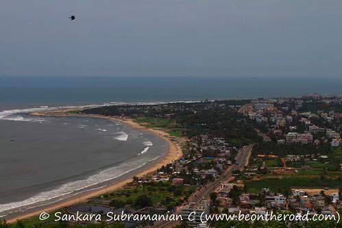 Bird's Eye View of Visakhapatnam