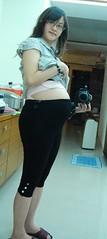 八個半月的孕婦大肚