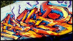 Virgen, como me gusta!! (Inckub Inkulto) Tags: tren flow graffiti mac freestyle bcn donald niños mc 200 once virgen bombing ares punts oof kub vias viladecans vlo riera oneline tmk pesados yafar incub tashme grafipuntos