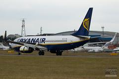 EI-EBL - 37529 - Ryanair - Boeing 737-8AS - Luton - 100726 - Steven Gray - IMG_8028