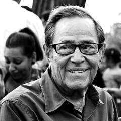 Benito Velasco (Glenn Daz) Tags: park vacation portrait bw art love smile face look shirt composition square glasses blackwhite concert eyes candid grandfather oldman grandpa sharp laugh processing present opening past greyhair