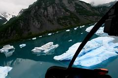 (paulatennyson) Tags: 2010 alaska bearglacier bearglacierlagoon bearlagoon blue day5 glacier helitour ice icebergs lagoon resurrectionbay seward