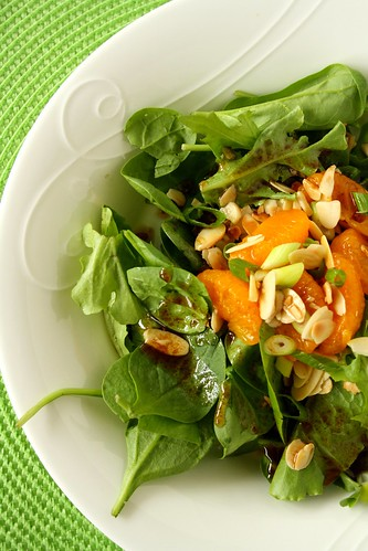 Shelagh Duffett's Romaine & Mandarin Salad