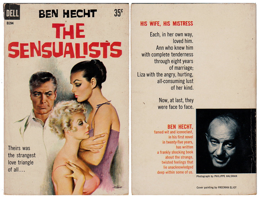 The Sensualists - Dell #D294 (1959)