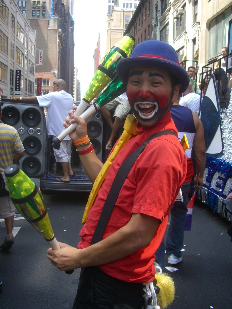 Clown Toto 0173 Clown Toto Nyc Tags Dominican Clown Toto Dominicandayparade Paysaso