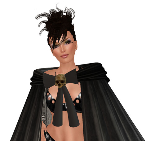 [SMOTD] Tainted Cape - Long Black - Midnight Mania & new Tuli for Members