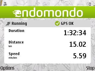 Hit 15 km