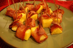 Bacon Wrapped Mango