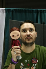 Wil Wheaton trying to make Blythe eyes 28/52