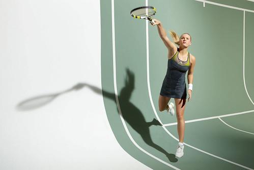 Caroline Wozniacki 2010 US Open adidas outfit