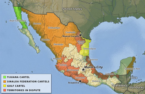 mexico-cartel-map