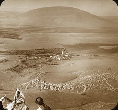 North Over Nain to Mount Tabor, From Little Hermon. (OSU Special Collections & Archives : Commons) Tags: mounttabor flickrhome takeatrip mountainsoftheholyland osuarchives
