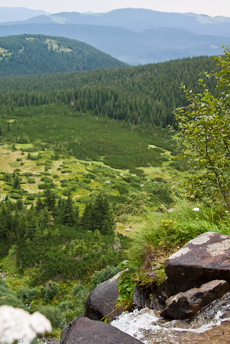 Hoverla Waterfalls