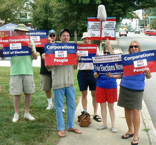 MoveOn Rally - Trappe Penn.