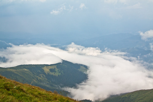 The view from Hoverla mt.