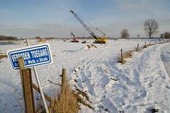 Liendense Waard in winter-1 (apalca) Tags: winter snow nature sneeuw noentry maas meuse gelderland verboden natuurontwikkeling liendensewaard