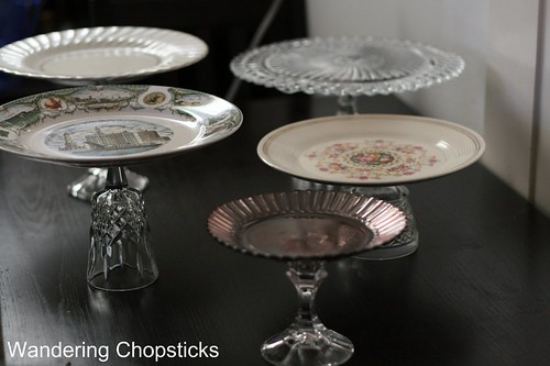 How to Make a Homemade Cake Stand 9