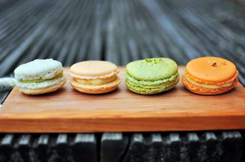 macarons by Eric Chong
