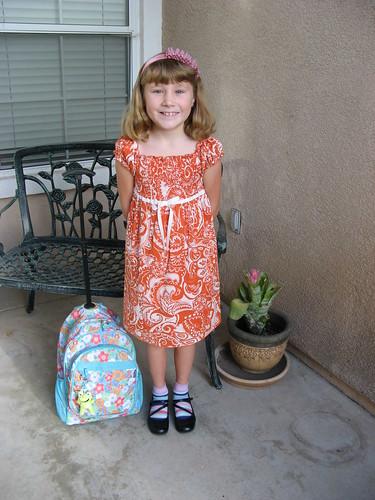 1st day of school-Peanut