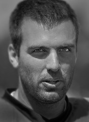 Joe Flacco - Baltimore Ravens (crabsandbeer (Kevin Moore)) Tags: portrait bw sports football nfl quarterback joe baltimore athlete ravens baltimoreravens flacco joeflacco