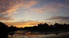 """夕陽 sunset (ddsnet) Tags: photomerge 寬景圖 全景攝影 sweeppanorama スイングパノラマ 天空 雲彩 sky cloud 日出 日落 sunrise sunset 太陽 sun 夕陽 晚霞 sony α nex5 nex mirrorless newemountexperience 朝霞 new emount experience sweep panorama sweeppanoramaスイングパノラマ """"sweep panorama"""""""