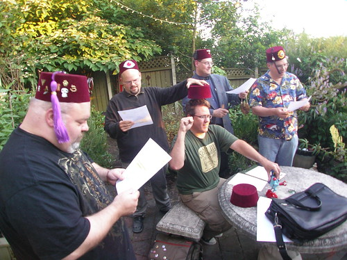CLAW member 13 initiation Ritual