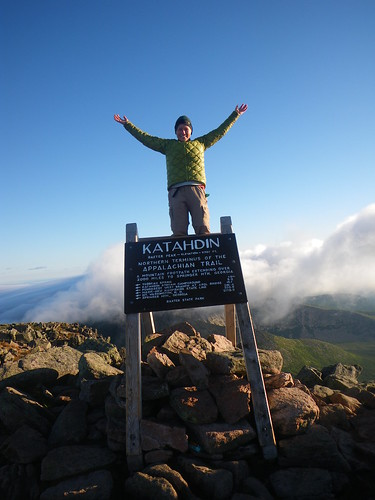 Misti at Katahdin Summit