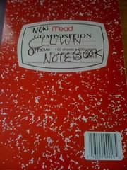 Clown Notebook
