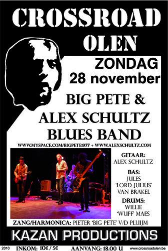 Big Pete & Alex Schultz Blues Band - Crossroad, Olen