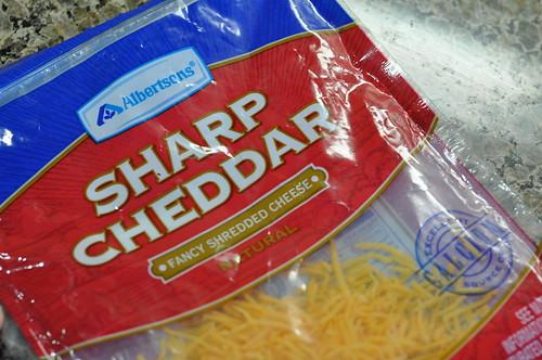 cheddar shreds