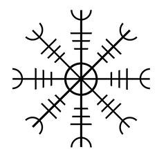 Aegishjalmur - Ægishjálmur (mikeyfreedom) Tags: symbol nordic awe viking protection helm aegishjalmur
