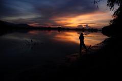 RAMADHAN INDAH (Arif Kori (  )) Tags: camping original sunset silhouette landscape evening malaysia aquarius ramadhan kori terengganu puasa arif sungai setiu penarik kgmangkuk suducarik tjlens