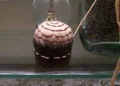 Swirl Pin Cushion (Gviolet2010) Tags: brown pin pins swirl pincushion etsy needles cushion cushions upcycle