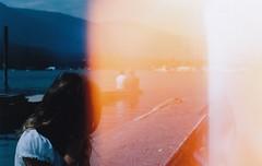 (katie de bruycker) Tags: summer lake film dock amy lightleak chinon