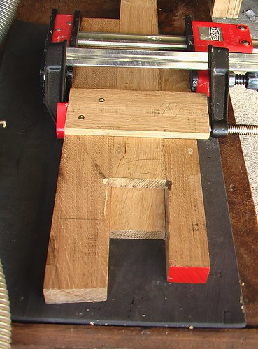 Lap joint router jig