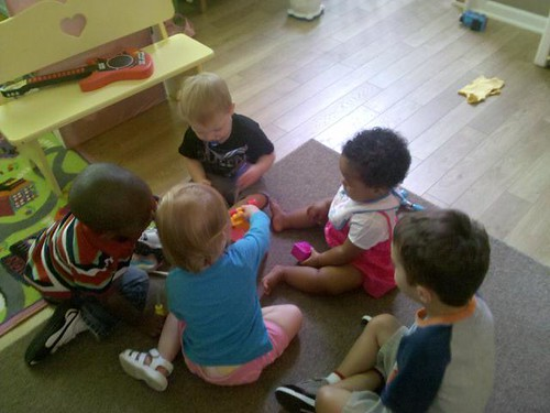 100802 Group Time at daycare