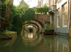 Summer (Harry Mijland) Tags: holland canal utrecht nederland kano gracht krommenieuwegracht dearharry harrymijland