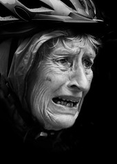 When a woman cry (118362 - 1) (Itzick) Tags: portrait bw face hat crying bnw elderlywoman d700 itzick