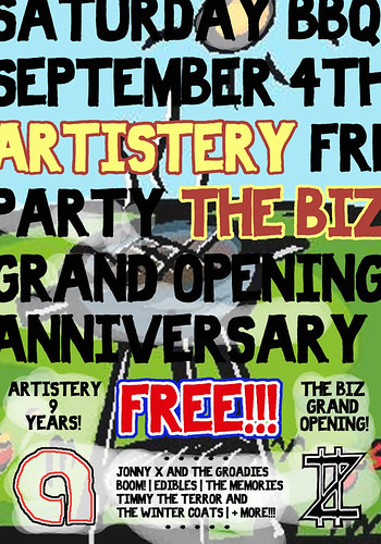 Artistery 9th Anniversary - The Biz Grand Opening