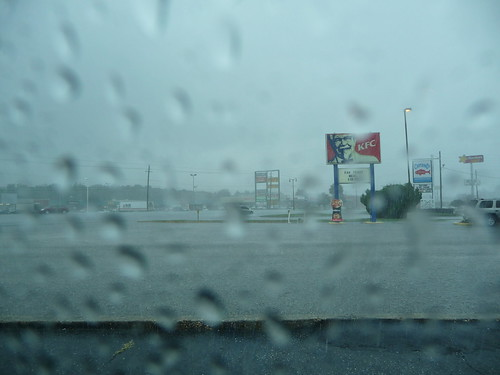Rainy Saturday in Milton, FL