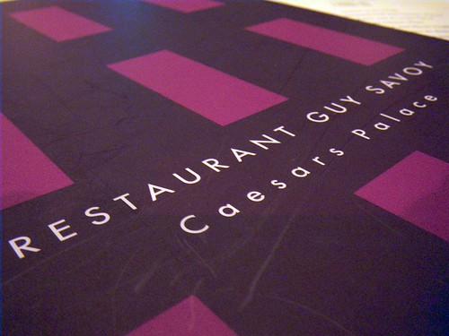 Las Vegas 2010 - Restaurant Guy Savoy