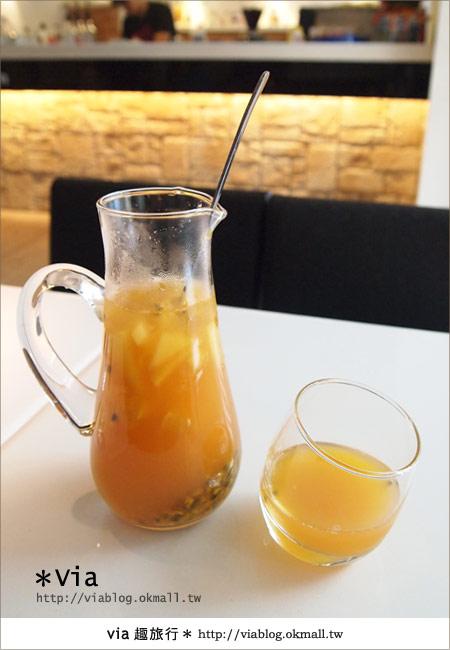 【台北東區美食】時尚午茶首選~Chin Chin Cafe蜜糖吐司15