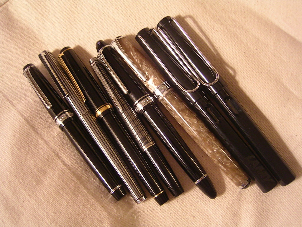 A Few Favorite Fountain Pens