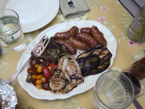 Grilled Sausage Dinner