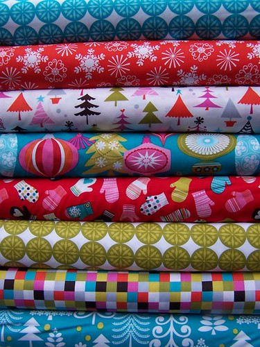 Christmas Spice Fabric Giveaway!