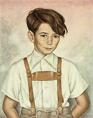 Christian Schad, Kinderbild Hans Joachim Zimper, 1945 (kraftgenie) Tags: germany weimar child schad