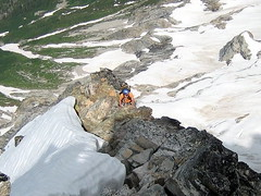 Jon on NE Buttress of Goode II