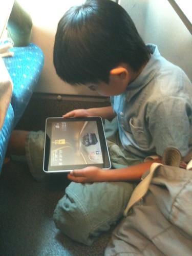iPadを奪われたなう。youtubeでセガラリーみてる。