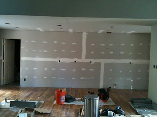 Ziems kitchen before cabinets
