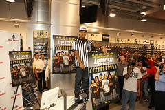 lil bow wow promoting his movie the lottery ticket